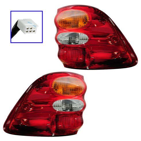 01-04 Toyota Sequoia Taillight Pair