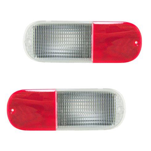 01-05 Chrysler PT Cruiser Combination Reverse Reflector Lens PAIR