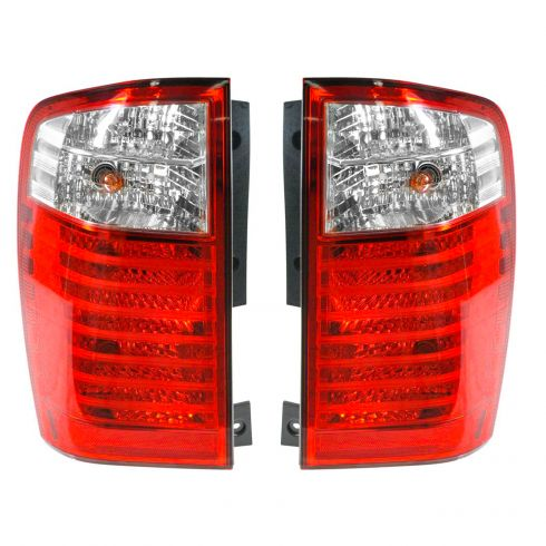 06 09 Kia Sedona Tail Light Pair