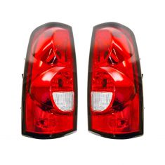 04-07 Chevy Silverado Fleetside Taillight Pair