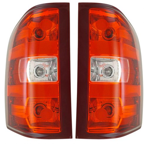 07-08 Chevy Silverado Tail Light Pair