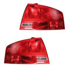 05-08 Audi A4 Sedan (outer) Taillight PAIR