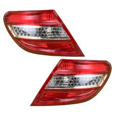 08-10 Mercedes C-Class w/AFS LED Taillight PAIR