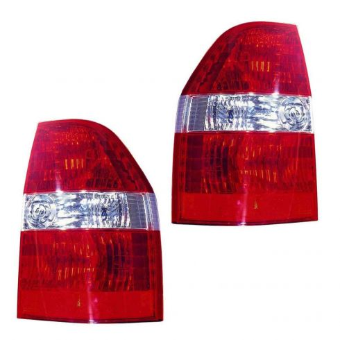 2001 03 Acura Mdx Tail Light Pair 1altp00800