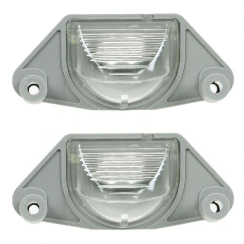 82-08 Buick, Chevy, GMC, Olds, Pontiac Multifit License Plate Light PAIR