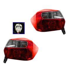 12-13 Subaru Impreza Station Wagon; 13 XV Crosstrek Outer Taillight PAIR