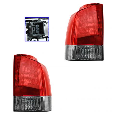 01-04 Volvo V70, XC70 Lower Taillight PAIR