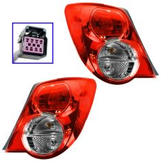 12-13 Chevy Sonic Notchback Taillight PAIR