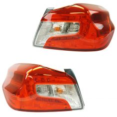 15-17 Subaru WRX Taillight LH RH Pair
