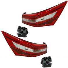 16-18 Toyota Avalon Outer Tail Light Pair