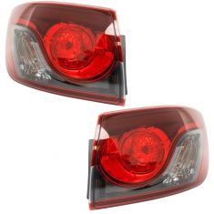 13-15 Mazda CX-9 Outer Tail Light Pair