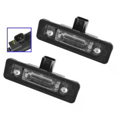 06-14 Ford, Lincoln, Mercury Multifit Rear License Plate Light Assy PAIR (FORD)