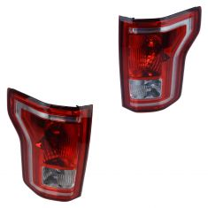 15-16 Ford F150 (w/o Radar & w/o L.E.D. Type) Taillight Assy PAIR (Ford)