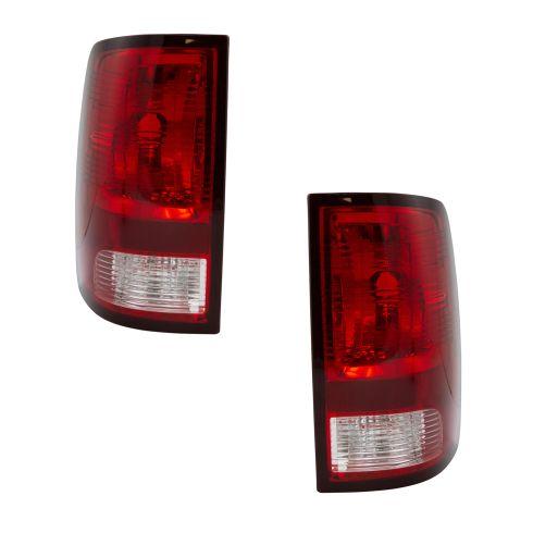 09-14 Dodge Ram 1500; 10-14 Ram 2500, 3500 (Non LED Type) Taillight Assy Pair (Mopar)