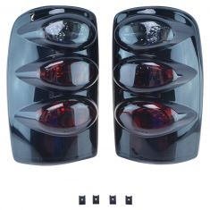 00-06 Tahoe, Suburban, Yukon Performance Smoked Altezza Style Taillight Pair