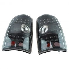 00-06 Tahoe, Suburban, Yukon Performance Black Bezel LED Taillight Pair