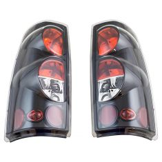 99-07 Chevy Silverado; GMC Sierra Performance Gloss Black/Clear Pair