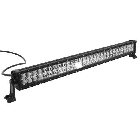 32 Inch - (180 Watt) Auxillary Flood & Spot Combination 60 LED Light Bar w/Riveted Trim