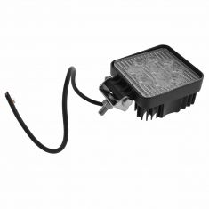 4 Inch - Square (27 Watt) Auxillary Spot Beam 9 LED Offroad Work Light