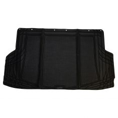 Custom Accessories Smart Fit: Trim to Fit All Season HD BLACK Rubber SUV/CROSSOVER Cargo Mat