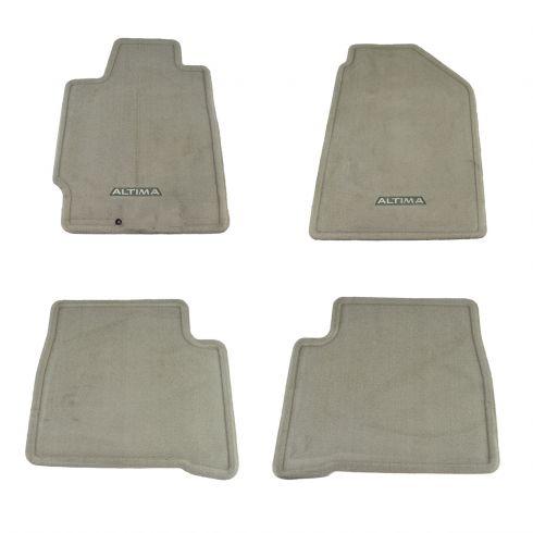 2002 06 Nissan Altima Floor Mat 4 Piece Set Nissan Oem 999e2 Up000fr