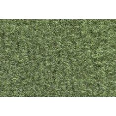 74-86 Chevy, GMC C/K; 87 R/V PU w/Low Tunnel Willow Green Cutpile Front Row Floor Mat (1 Pce)