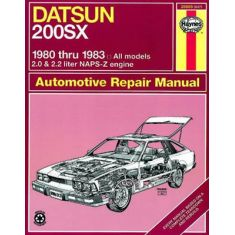 1980-83 Nissan/Datsun 200 SX Haynes Repair Manual