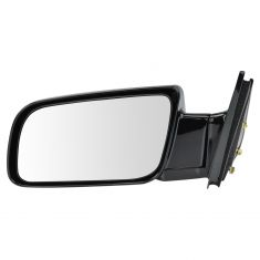 88-01 Chevy PU Manual Mirror Blk LH
