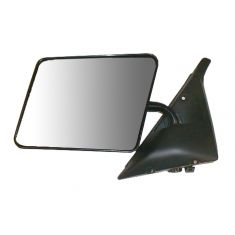 82-94 S10 Manual Mirror Blk LH