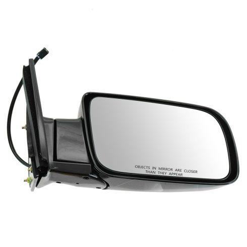 88-00 Chevy PU Power Mirror Blk RH