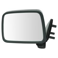 86-97 Nissan PU Truck Manual Mirror Blk LH