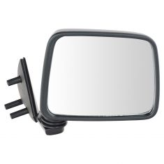 86-97 Nissan PU Truck Manual Mirror Blk RH