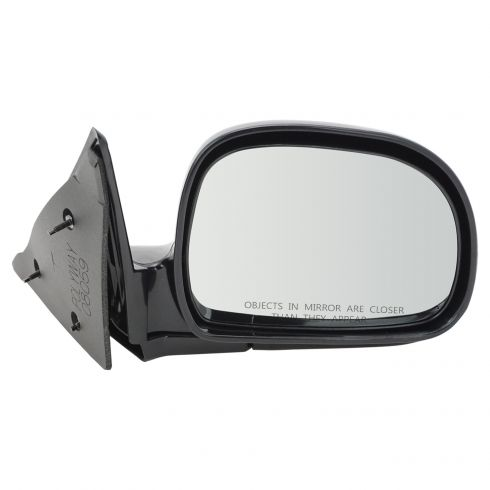 TUPARTS Fit for 1994-1998 Chevy Blazer S10 1994-1998 GMC Jimmy S-15 1994-1998 GMC 1996-1998 Olds Bravada with Manual Adjustment Manual Folding Side View Mirror Right Side Mirror
