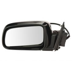 02-06 Honda CR-V Power Mirror Smooth Black Head LH