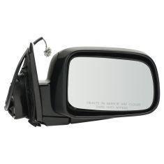 02-06 Honda CR-V Power Mirror Smooth Black Head RH