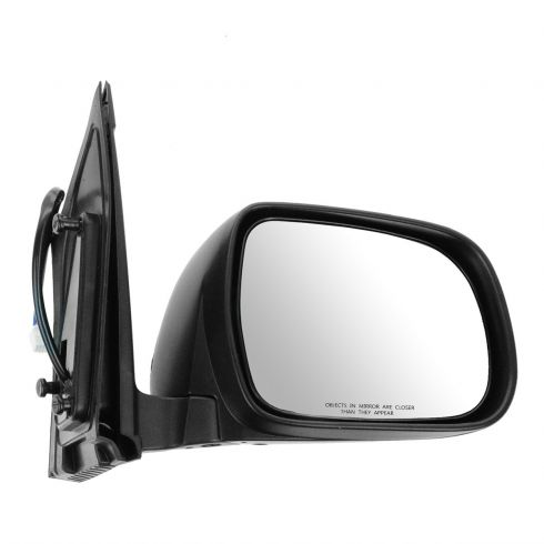 Power Mirror For 2004-2010 Toyota Sienna Passenger Side Heated Textured Black