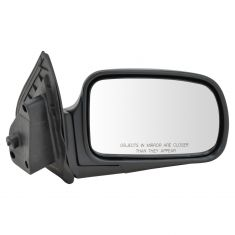 93-98 Nissan Quest Mirror Manual Remote RH