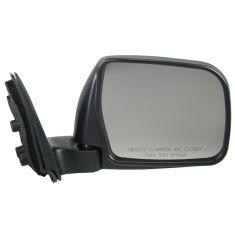 96-98 Toyota T100 Mirror Manual Folding W/Chrome Cover RH