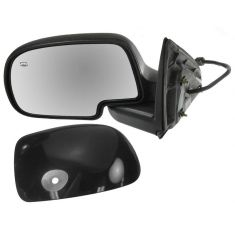 00-06 GM Truck Power Mirror Heated Pud Gloss Blk LH