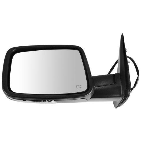 09-11 Dodge Ram 1500; 10-11 2500 3500 Power Heated Turn Signal w/PL Textured Mirror LH