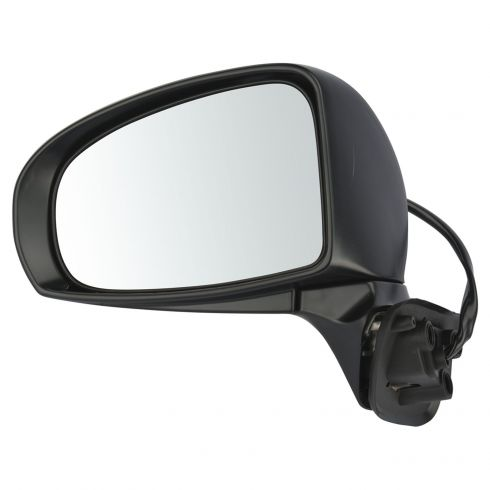 10-11 Toyota Prius (Type G & SL) Power Heated Gloss Black Mirror LH