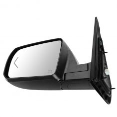 07-12 Toyota Tundra; 08-12 Sequoia Power Folding, Heated, w/Turn Signal w/Chrome Cap Mirror LH