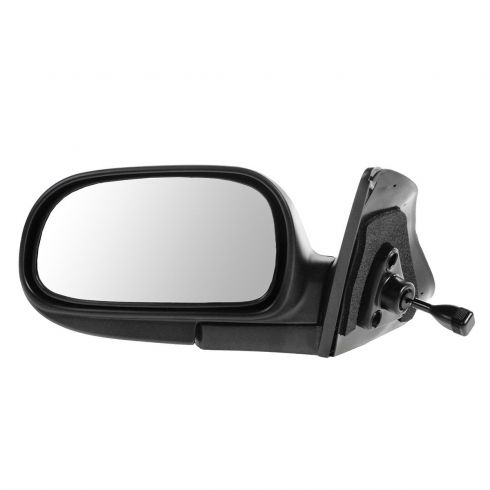 Manual Side View Door Mirror RH Right Passenger Side for 93-97 Toyota Corolla