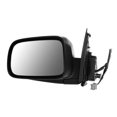 02-06 CRV Power Heated Manual Fold Black Rear View Door Mirror Left Driver Side