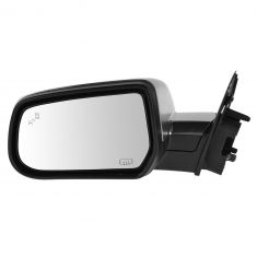 13-14 Chevy Equinox, Terrain (w/Blind Spot Ind) Power, Heated, w/Memory Mirror w/Satin Chrome Cvr LH