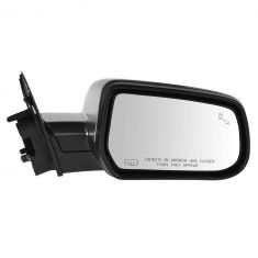 13-14 Chevy Equinox, Terrain (w/Blind Spot Ind) Power, Heated, w/Memory Mirror w/Satin Chrome Cvr RH