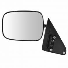 88-02 GM Full Size PU, SUV Manual Mirror w/Chrome Head LH