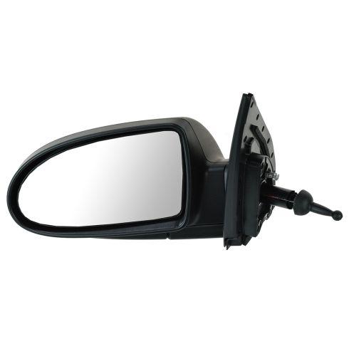 06 Hyundai Accent Sedan; 07-09 Accent Manual Remote PTM Mirror LH