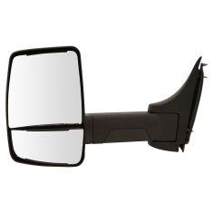 03-17 Chevy Express, GMC Savana Cut-Away Van Dual Glass Txt Blk Manual Tow Mirror LH