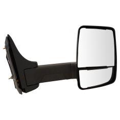 03-17 Chevy Express, GMC Savana Cut-Away Van Dual Glass Txt Blk Manual Tow Mirror RH